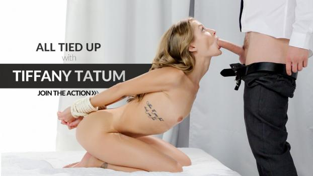 Woman naked in an orgasm