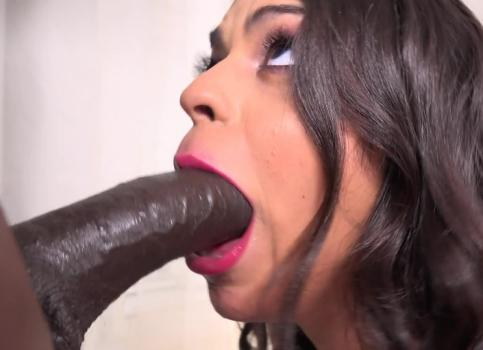 Sexy Vienna Black Gets Full Of Black Dick