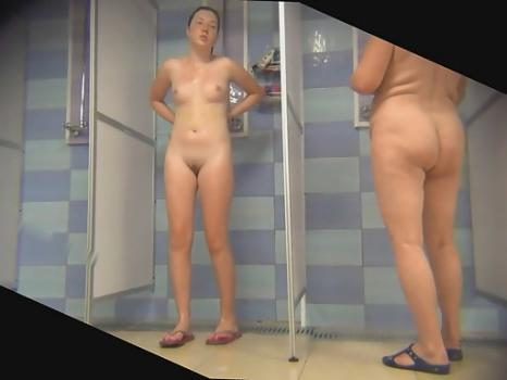 Spycam in the public women's shower