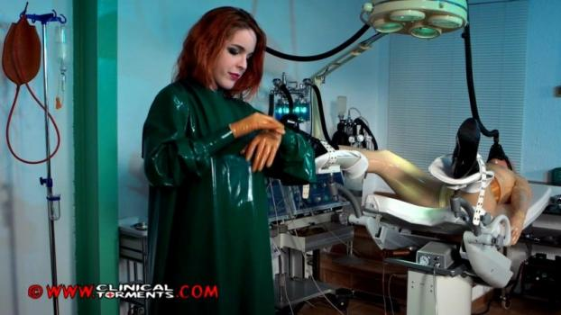 In The Fetish Clinic – Nurse Amarna Miller and Mary Jale Part Seven (Clip207). Dec 16 2014. Clinicaltorments.com (373 Mb)