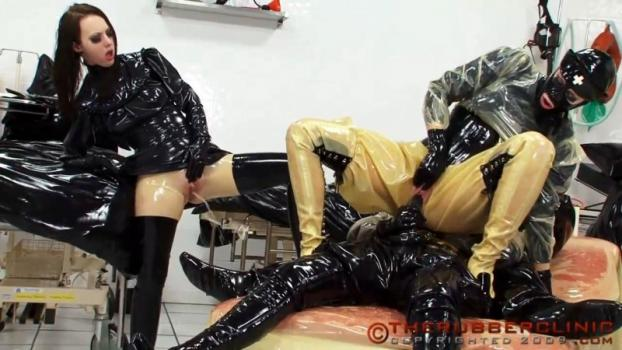 Piss Fuck Overload Finale. Non-stop Rubber Fucking and Pissing action. Therubberclinic (147 MB)