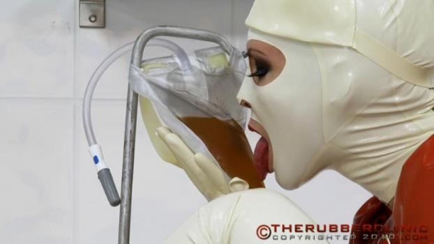 Rubber Straight Jacket & Gyno. Therubberclinic (136 MB)