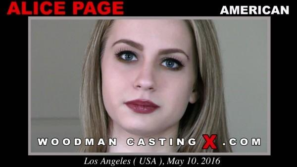 Alice Page casting X